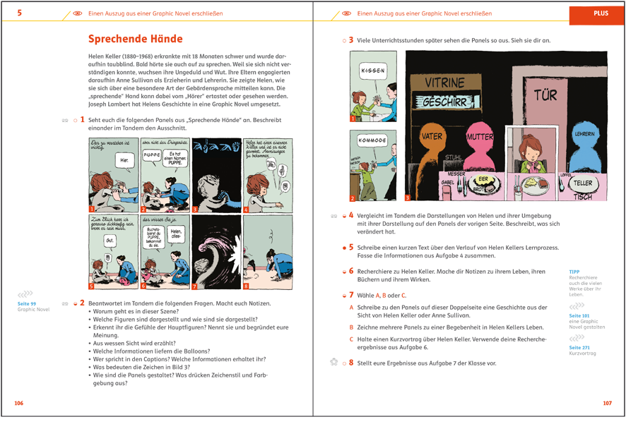 Graphic Novels im Deutschunterricht | deutsch.klett