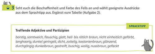 Beispiel aus Deutsch kompetent mit einem Sprachtipp