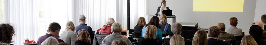 Veranstaltungsteilnehmer bei Fortbildung des Klett Verlags